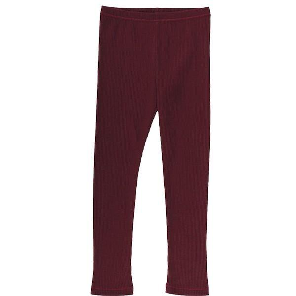Müsli Leggings Gross `Cozy rib Truffle` (bio)