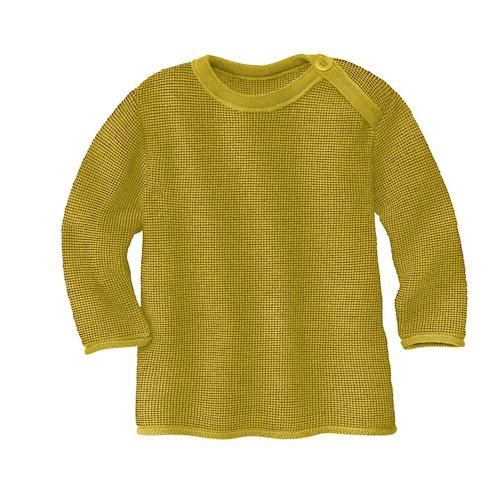 Disana Melange Pullover `curry/gold` (bio)