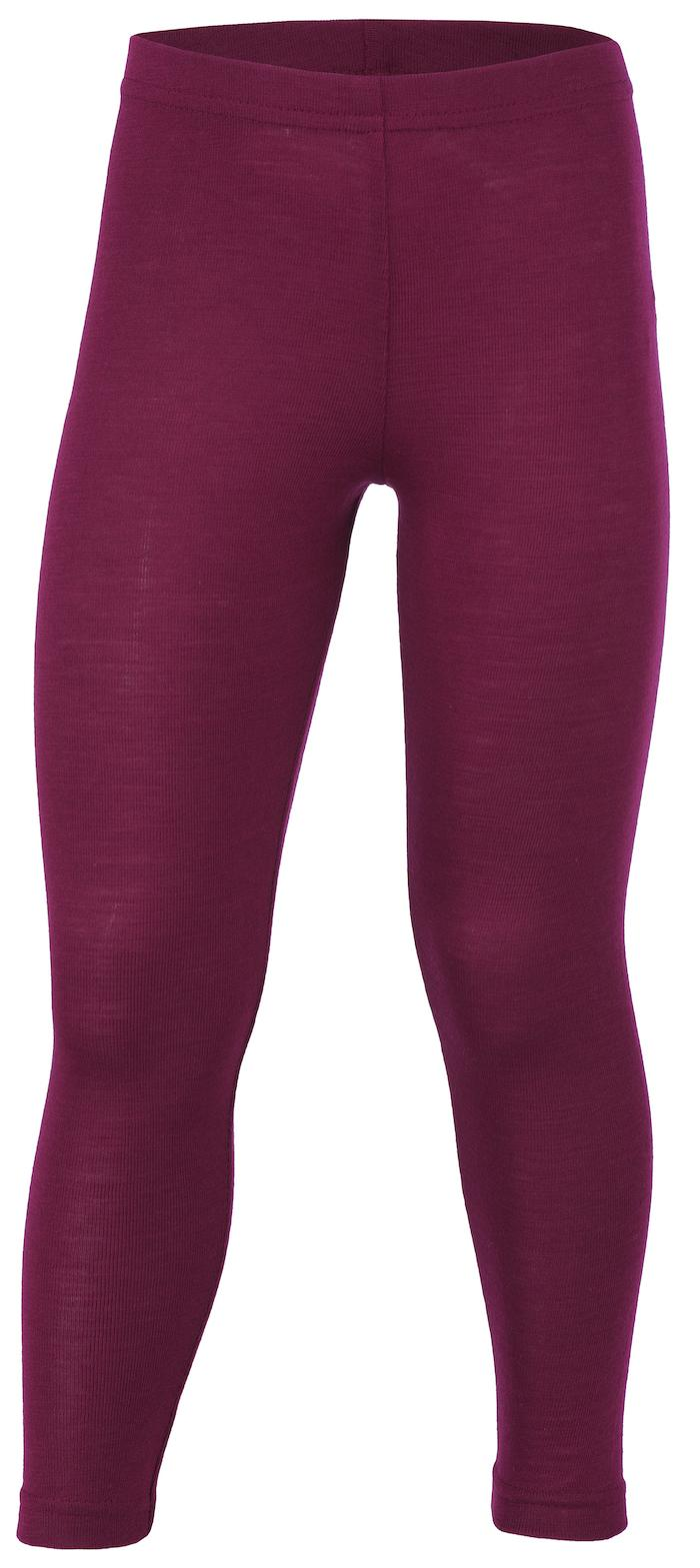 Engel Leggings Wolle/Seide `orchidee` (bio)
