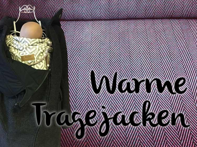 Warme Tragejacken