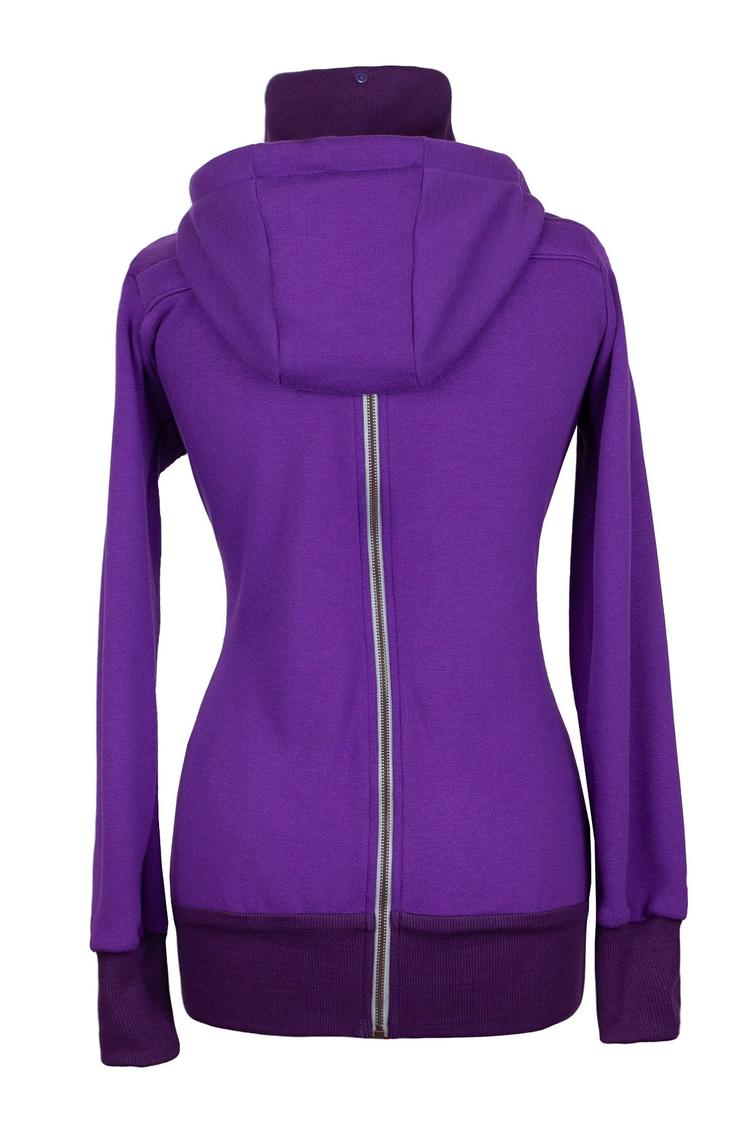 Angelwings TrageHoodie dark purple - 2