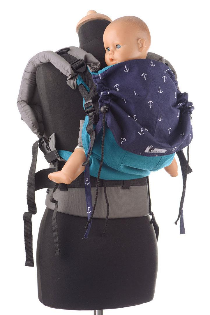 BabyRoo Huckepack FB medium `Blaue Anker`