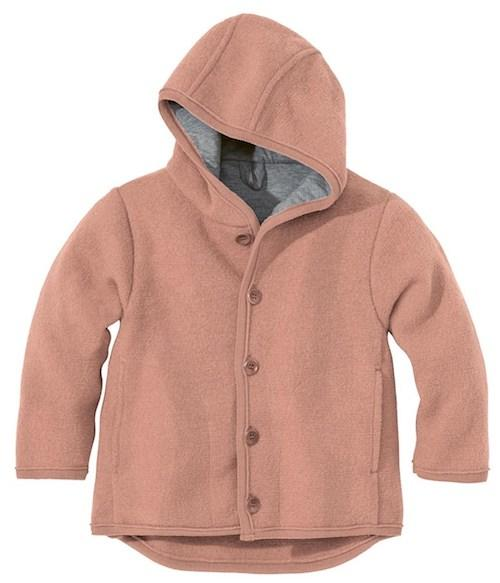 Disana Wollwalk-Jacke, rose