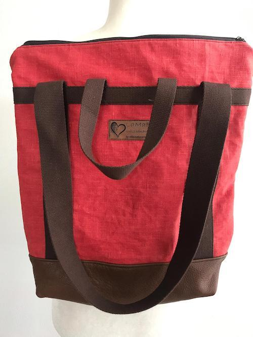 Lamafe Backbag `Apfelrot`