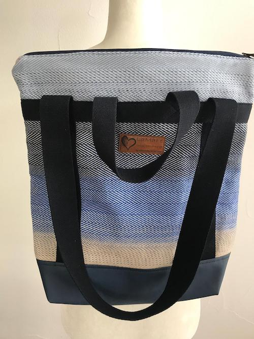 Lamafe Backbag `Blue Sky`