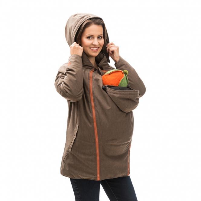 online store d2d60 ee91c Mamalila Trage-Winterjacke braun