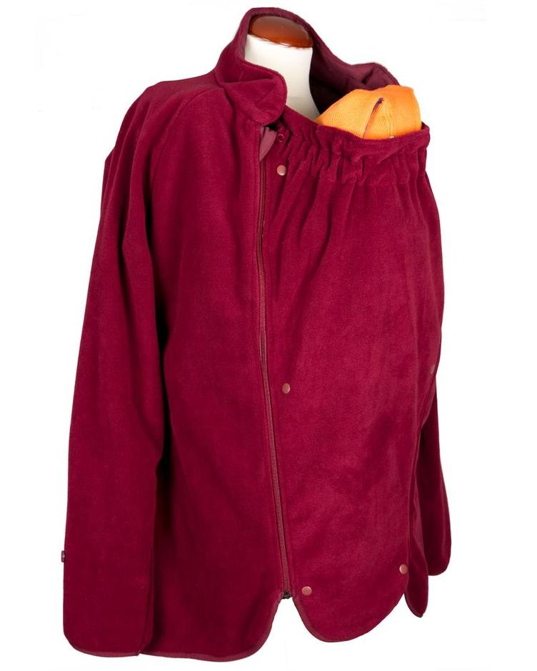 MaM All-Season Combo Jacket; rosewood red