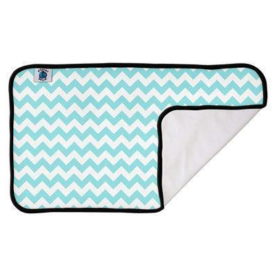 PlanetWise Wickelunterlage `Teal Chevron`