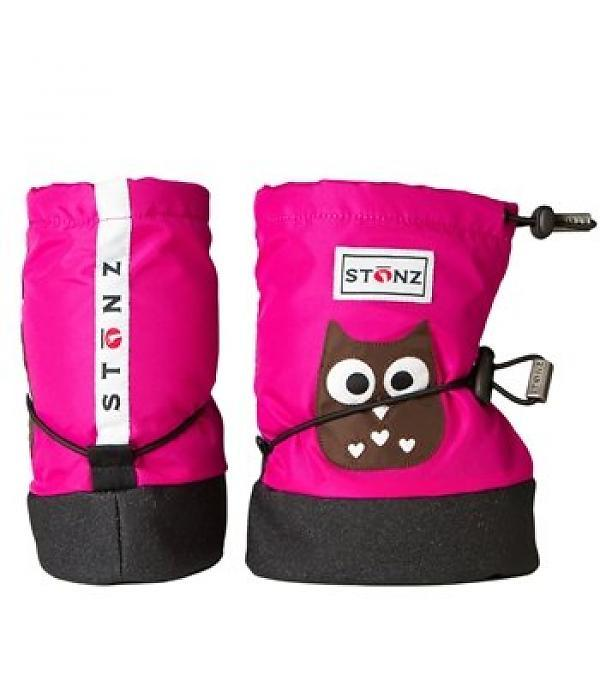 Stonz Booties `Eule pink` Gr. S - mit Liners